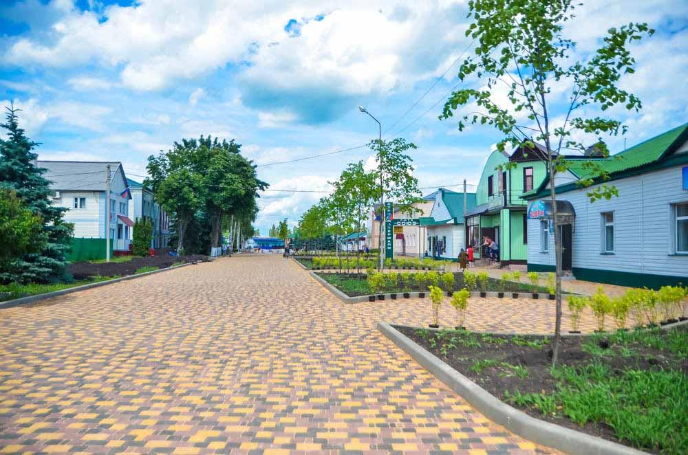 Новый облик улицы Горького. Вид со стороны ж.д. вокзала.