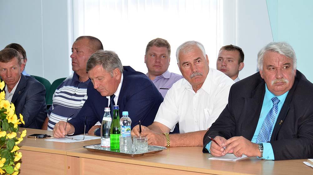 Во время совещания на станции Плавица.