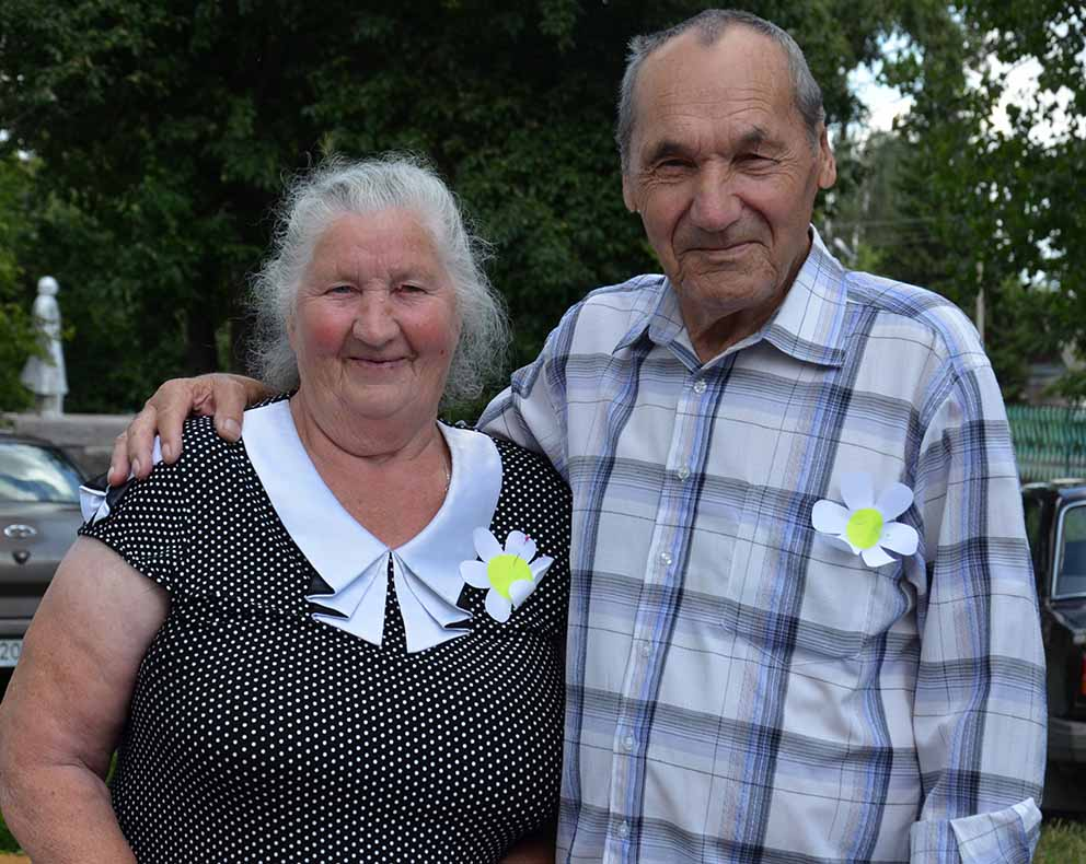 Супруги Авдеевы -  Валентина Васильевна и Леонид Федорович прожили в счастливом браке уже 53 года.