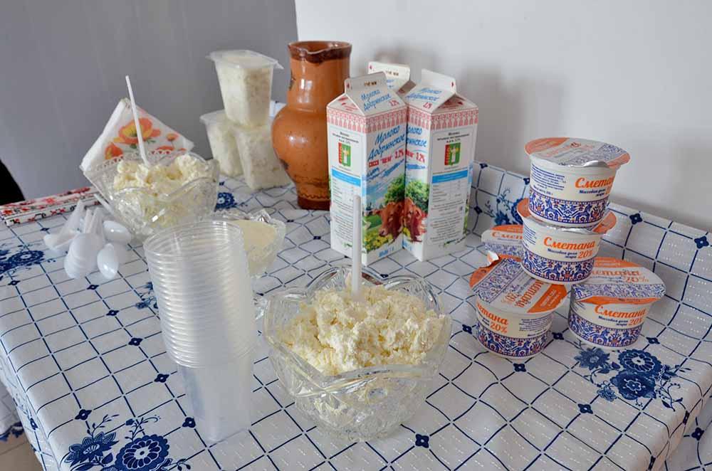 """Молочная продукция кооператива """"Идеал"""""""