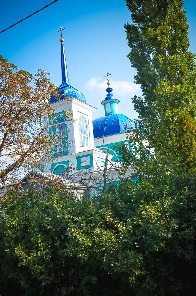 Покровский храм в с. Павловка