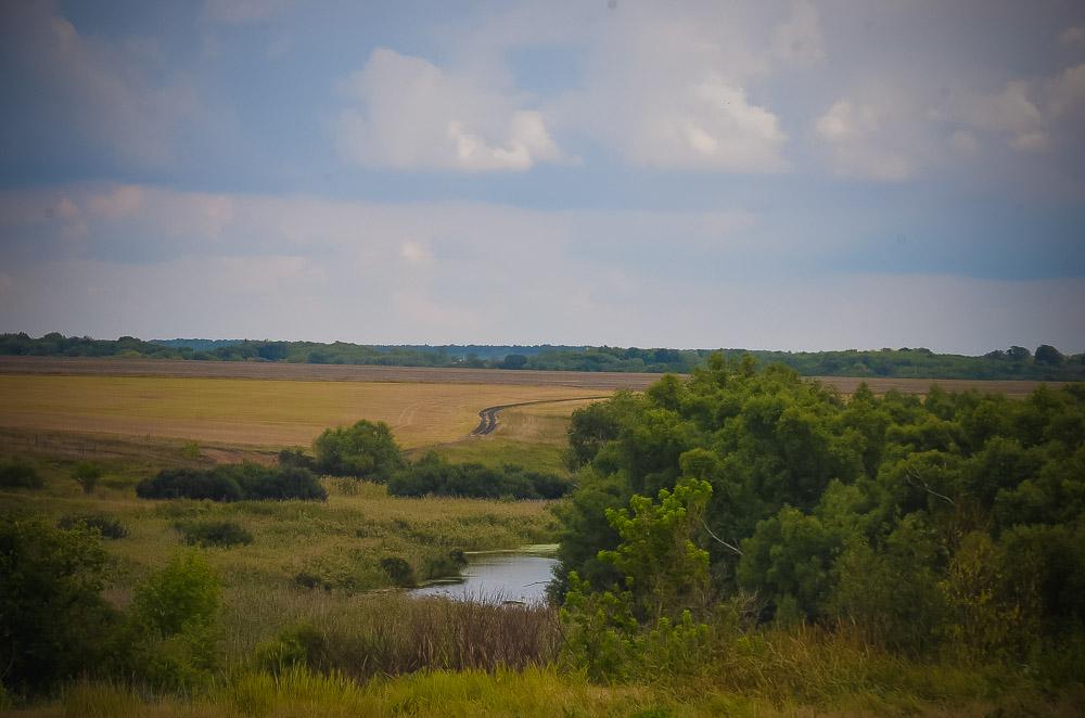Живописные места у села Сафоново.