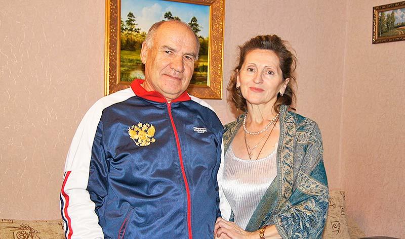 """""""Моя надежная опора"""". Так отзывается  о юбиляре супруга Галина Николаевна, с которой они прожили без малого 40 лет."""