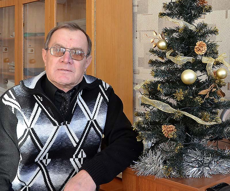 Александо Ходыкин - Дед Мороз с многолетним стажем.