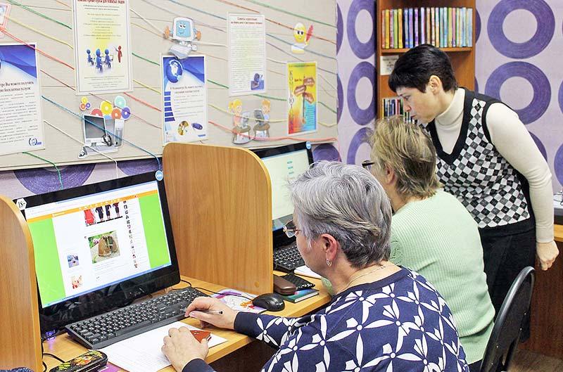 Занятия проходили в библиотеке дважды в неделю. С каждым работали индивидуально.