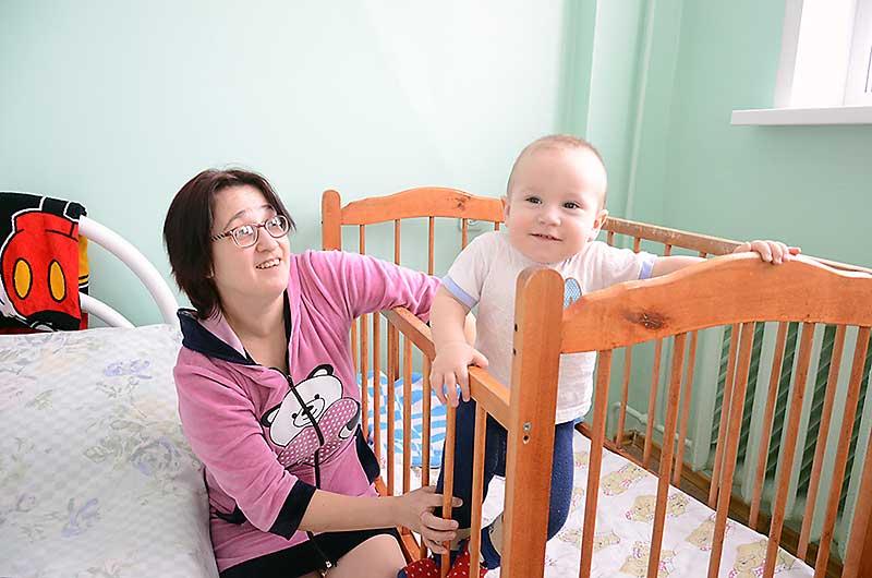Татьяна Коноваленко – многодетная мама. Условиями лечения довольна: чисто, тепло, уютно.
