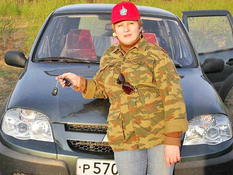 Зинаида Назарова.