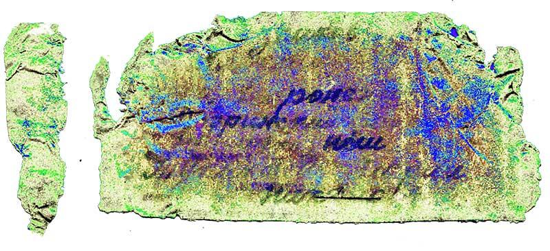 Именно по этой самодельной записке из солдатского медальона, заполненной чернилами на водной основе, удалось установить личность погибшего воина.