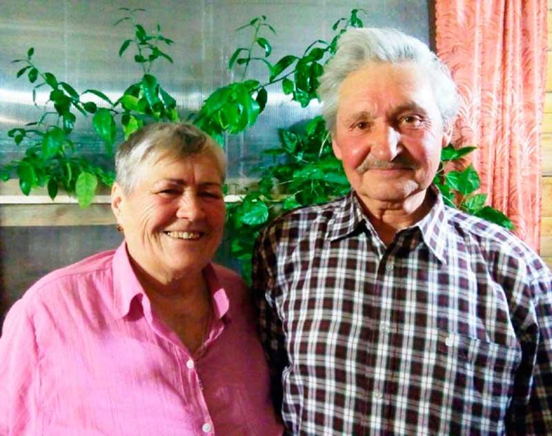 Вячеслав Ильич Наливкин с супругой Зоей Сафроновной.