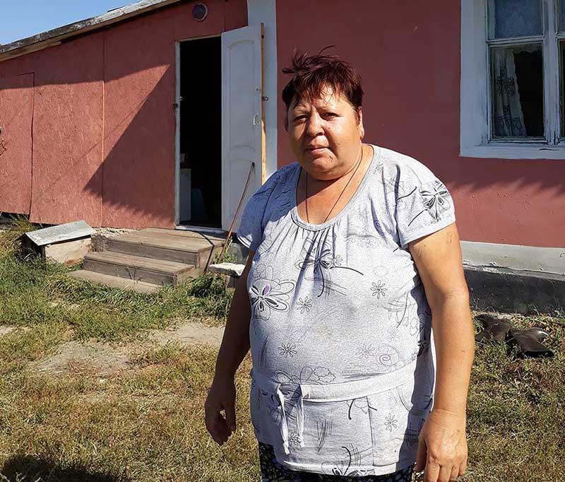 Светлана Иванникова — единственная жительница села.